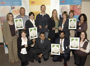 Oxoid Food Awards Winners Receive Prizes.