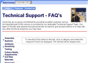OXOID TECHNICAL SUPPORT TEAM PROVIDE THE ANSWERS