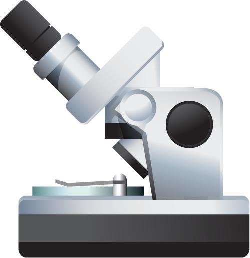 Oxoid - Clip Art - Microscope