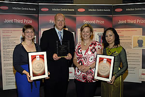 2006/2007 Oxoid Infection Control Team of the Year Awards winners