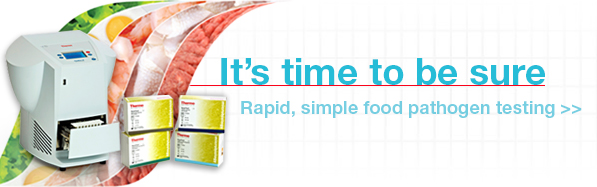 It's time to be sure: Rapid, simple food pathogen testing